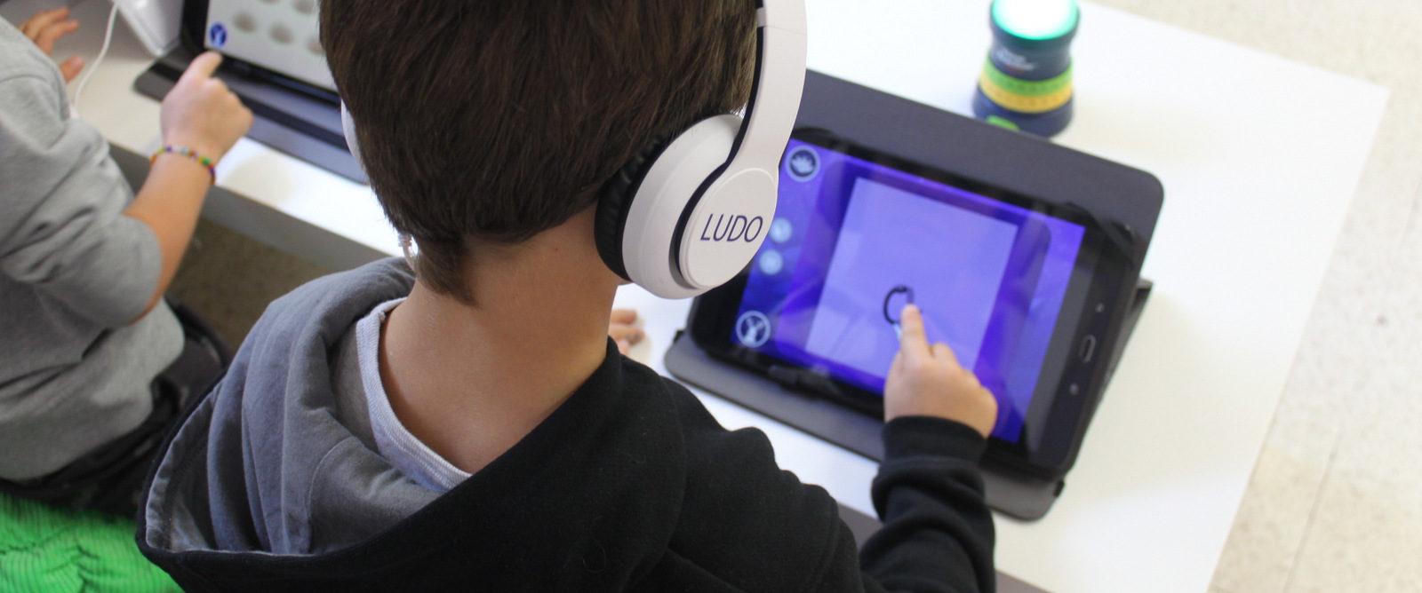 LUDO est une étude grandeur nature de l'efficacité de la  suite de jeux Kalulu